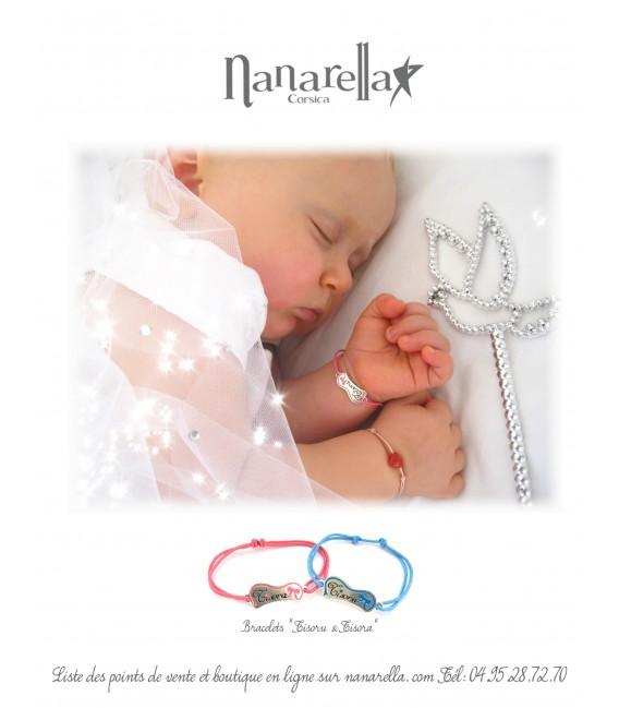 Le Coeur en Corail Maman ou Bébé