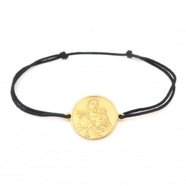 Le Bracelet Saint Joseph or 18 carats