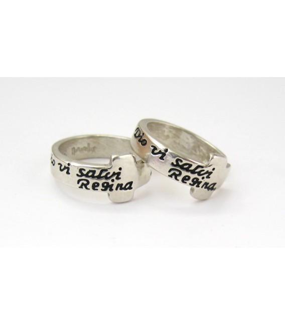 The Dio Vi Salvi Regina Ring