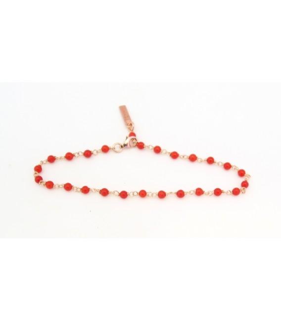 Le Bracelet Fines Boules de Corail