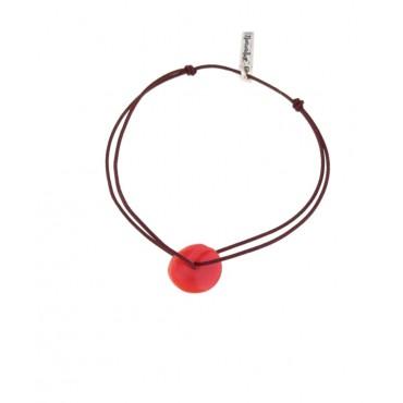 Bracelet Disque en Corail