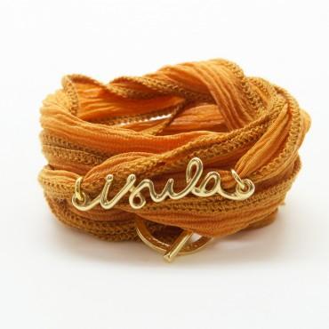 Le Bracelet en soie Isula