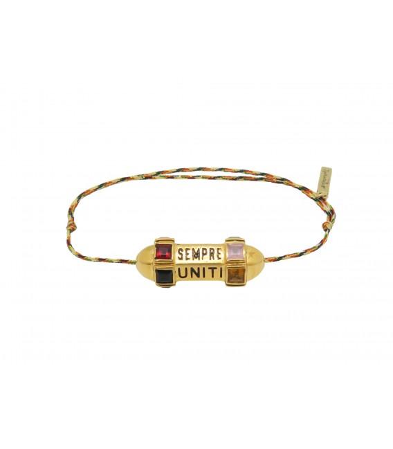 "Bracelet Talisman ""Sempre Uniti Bella Vita"""